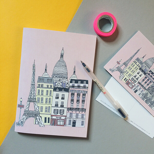 Paris notebook